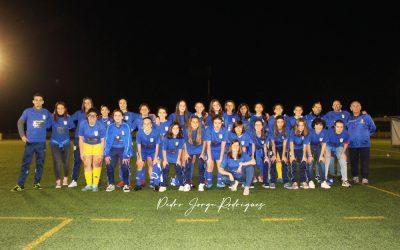 Iniciadas do União de Almeirim vencem primeiro campeonato distrital feminino do escalão