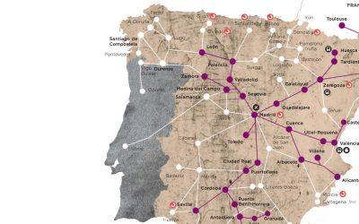 Mapa da companhia ferroviária espanhola colocou Lisboa em Santarém e Vigo em Portugal
