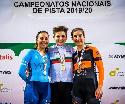 Maria Martins arrecada três títulos nacionais no Campeonato Nacional de Pista