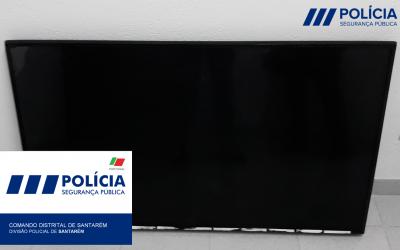 PSP recupera televisão furtada na Escola Alexandre Herculano