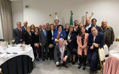Governadora visita Rotary Club de Santarém