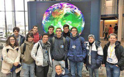 Alunos de física da Escola Sá da Bandeira visitam a Alemanha