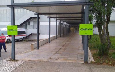 Hospital de Santarém cria unidade de cuidados intensivos e internamento específicos para o Covid-19
