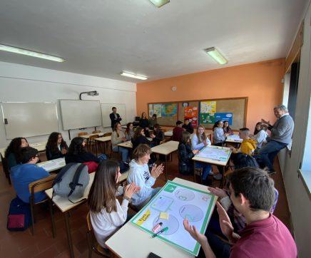 Escola Alexandre Herculano recebeu sessão do Plano  Municipal da Juventude