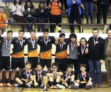 Pleno de vitórias garante campeonato distrital de futsal aos iniciados do CAD Coruche