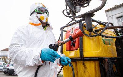 Valnor iniciou higienizarão dos ecopontos na região