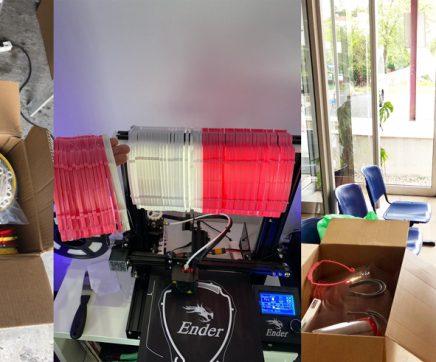 'Makers' do Cartaxo já entregaram 300 viseiras de protecção a várias instituições