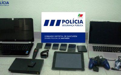 PSP detém suspeitos de furto recupera artigos no valor de 2400 euros em Santarém