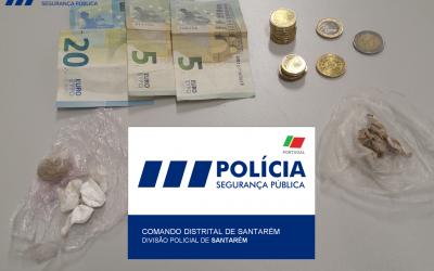 Quatro homens detidos por tráfico de droga em Santarém