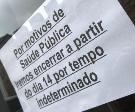 Comércio local em Santarém com quebras entre os 40% e os 90%