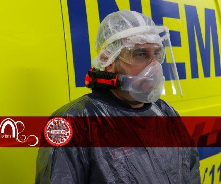 Câmara de Santarém compra 5 mil viseiras de protecção facial para várias entidades do concelho