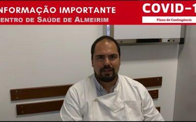 VÍDEO | USF de Almeirim explica regras e procedimentos a tomar pelos utentes
