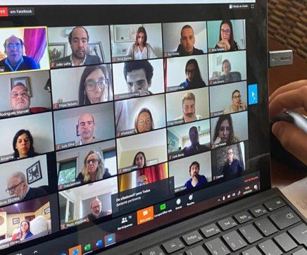 Conferência online da Viver Santarém reuniu mais de 100 participantes