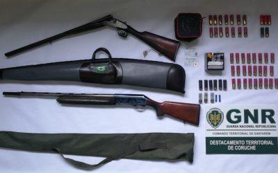 GNR identifica e apreende armas a homem por ameaças e agressões a vizinho