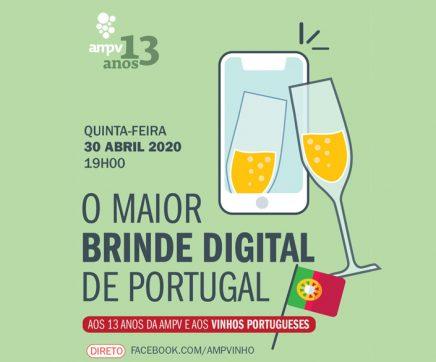 """Associação de Municípios Produtores de Vinho celebra aniversário com """"brinde digital"""""""