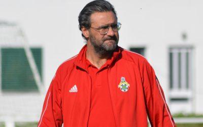 Pedro Brandão apresentado como novo treinador do GD Samora Correia