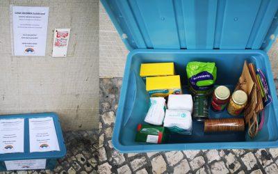 Caixa Solidária para quem mais precisa já chegou ao distrito de Santarém