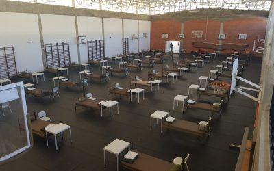 VÍDEO | Entroncamento com 170 camas preparadas para eventual situação de emergência