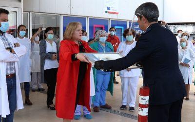 VÍDEO | Forças de Segurança e de Socorro prestam homenagem aos profissionais de Saúde do HDS
