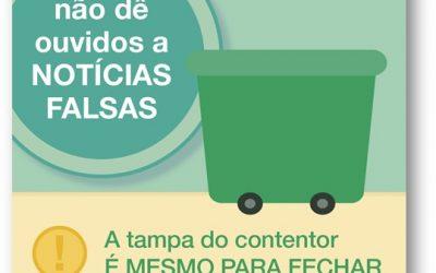 Câmara Municipal alerta para informação falsa sobre recolha de lixo