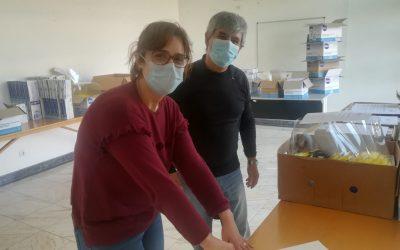 Associação Mais Santarém doa 30 mil luvas e 500 viseiras a várias instituições