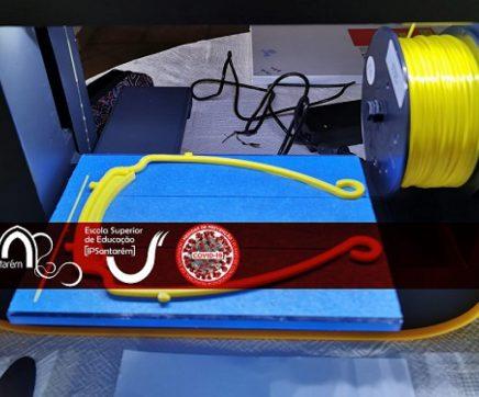 Município e Escola Superior de Educação juntam-se para aumentar produção de viseiras