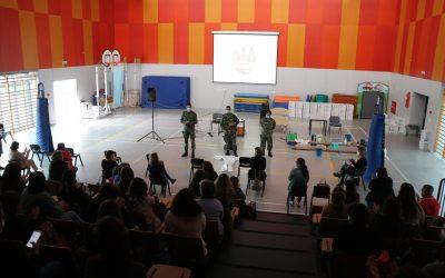 Forças Armadas ministram acção de formação à comunidade escolar