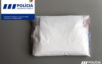 PSP apreende 1500 doses de cocaína