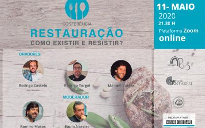 Viver Santarém promove conferência online para debater problemas da restauração