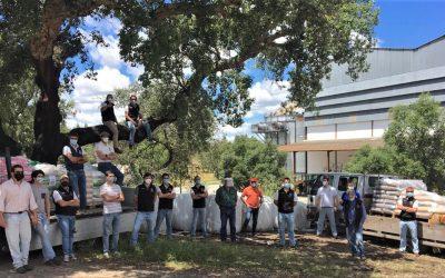 """Grupo de Forcados Amadores de Coruche angaria perto de 13 toneladas de alimentos para o """"Monte Selvagem"""""""