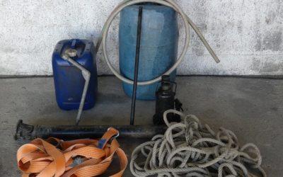 GNR recupera jerricans, macaco hidráulico e veio de transmissão furtados