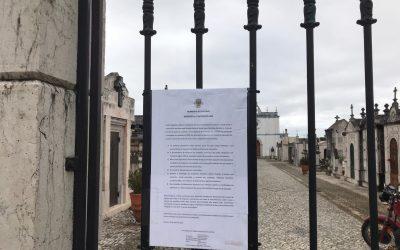Cartaxo reabre cemitério de forma condicionada