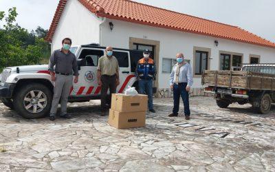 Câmara distribui máscaras reutilizáveis pela população