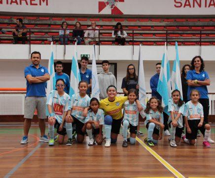 Vitória Clube de Santarém com mais escalões de futsal feminino em 2020/21
