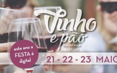 Festa do Vinho & Pão no Cartaxo começa hoje por via digital