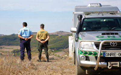 GNR reforça patrulhamento para prevenir incêndios rurais