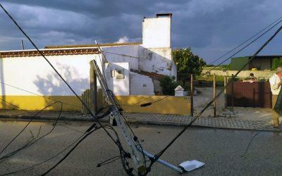 """Fenómeno """"muito extremo"""" em Fazendas de Almeirim danificou telhados e barracões"""