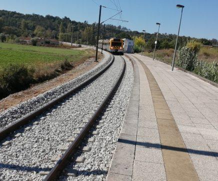 Reabilitação do primeiro troço do ramal ferroviário de Tomar está concluída