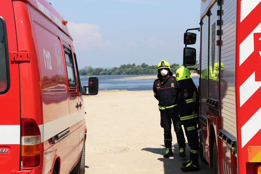 Duas crianças resgatadas do Rio Tejo por populares em Santarém