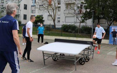 VÍDEO | Federação Teqball Portugal promove modalidade em Santarém