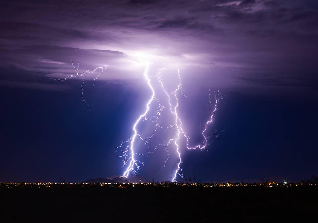 Precipitação e trovoada colocam distrito de Santarém sob aviso amarelo