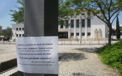 "Activistas alertam para ""gravidade extrema"" na Bacia do Rio Tejo"