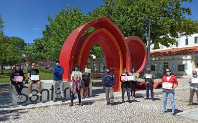 Concentração anti-racista reúne cerca de 15 pessoas em Santarém