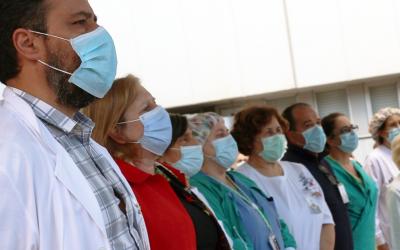 Hospital de Santarém acima da média europeia no número de camas dedicadas à Covid-19