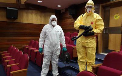 Câmara de Almeirim adquire nebulizador para desinfectar espaços e viaturas municipais