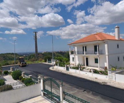 Várias ruas da cidade de Santarém alvo de repavimentação