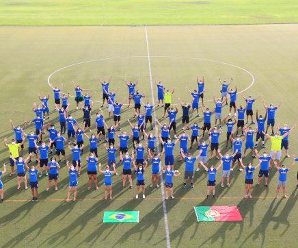 Atleta brasileiro cumpre isolamento em Portugal após teste à covid-19 positivo