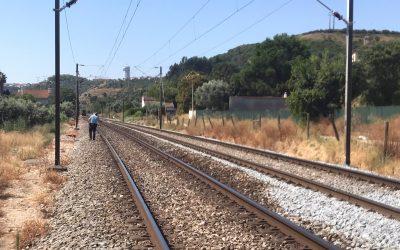 VÍDEO | Atropelamento mortal na Linha do Norte em Santarém
