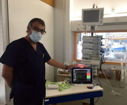 Medicina Intensiva do Médio Tejo recebe equipamento de monitorização único no país