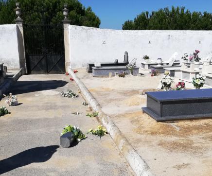 Cemitério de Póvoa da Isenta alvo de actos de vandalismo
